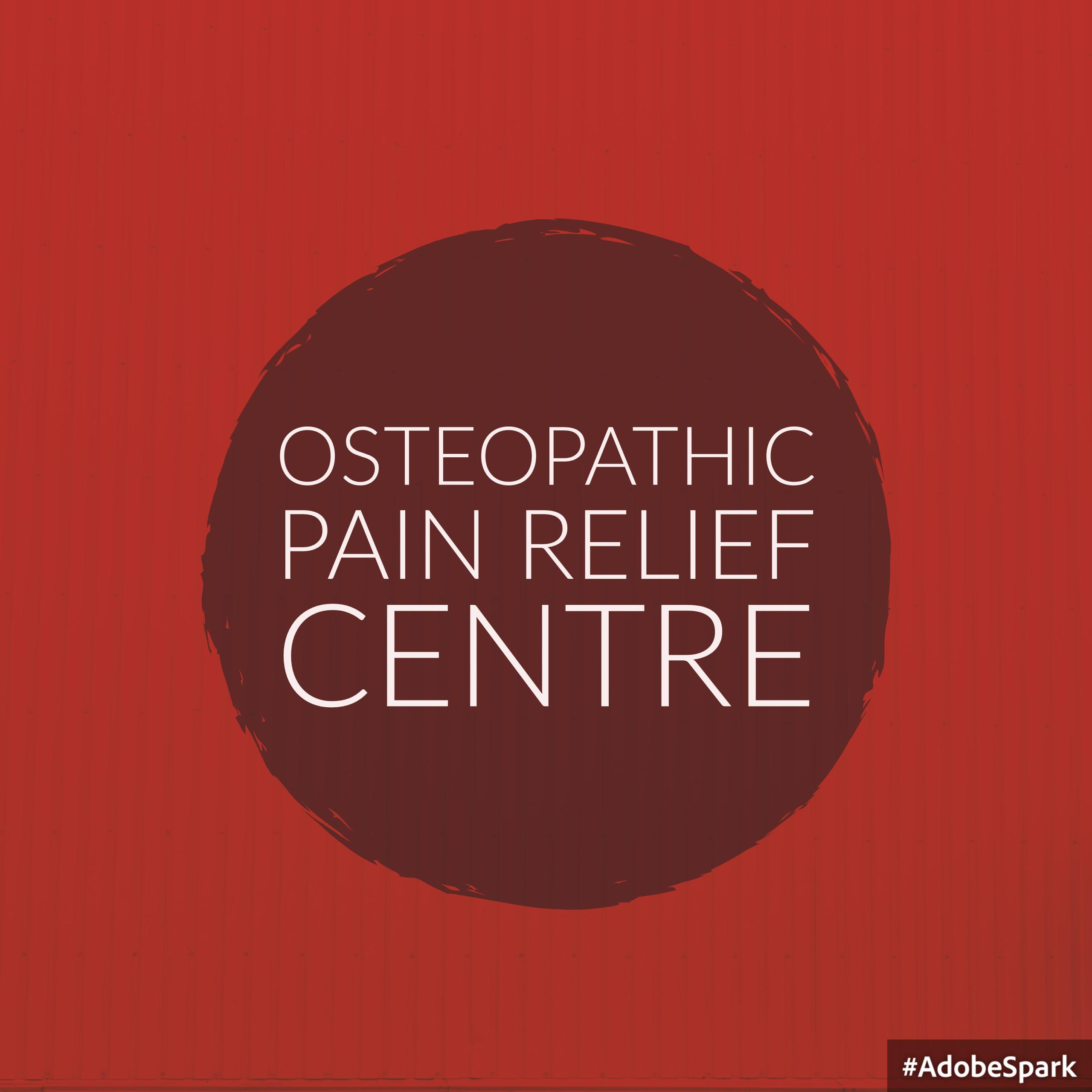 Osteopathic Pain Relief Centre